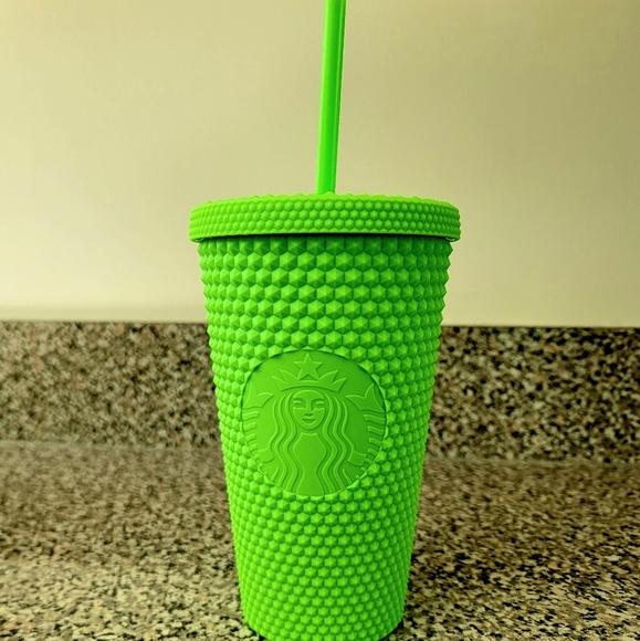 Starbucks Fall 2021 Neon Green 16oz